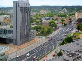 Reconstruction of Konstitucijos pr. in Vilnius
