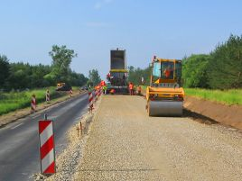 Reinforcing the pavement of the A4 trunk road (Vilnius–Varėna–Gardinas)