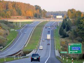 Transeuropinio tinklo kelio (Vilnius-Kaunas-Klaipėda) rekonstravimas. I etapas.