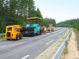 Major repairs of the Vilnius–Švenčionys–Zarasai road