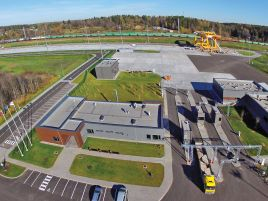 Construction of an intermodal terminal at the Vilnius public logistics centre