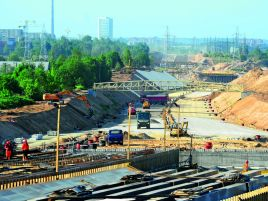 CONSTRUCTION OF THE VILNIUS WESTERN BYPASS. STAGE III